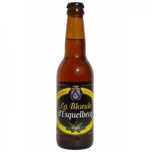 Blonde d'Esquelbecq, bière artisanale blonde, brasserie artisanale Thiriez, box bière mai