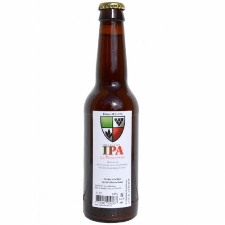 IPA Bonaventure, bière artisanale IPA, brasserie artisanale L'Atelier de la Bière - Bières Bellon, box bière mai