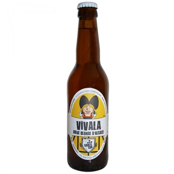 Bière blonde artisanale Vivala Sainte Crucienne