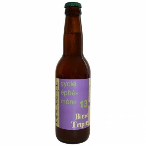 Bière triple artisanale Bendorf Cycle éphémère 13