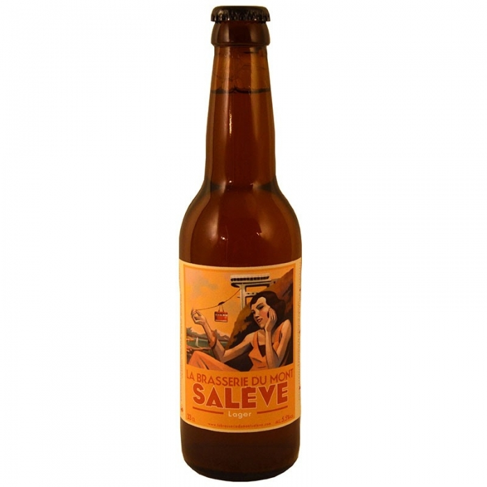 Bière lager artisanale blonde du Mont Salève
