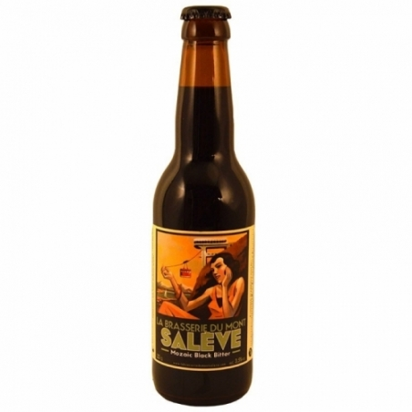 Bière noire Mont Salève Mozaic Black Bitter