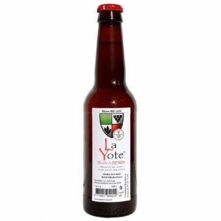 Bière blonde artisanale La Yote
