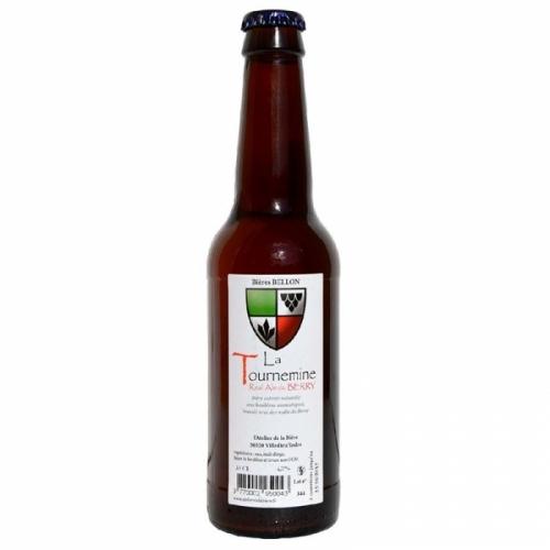 Bière ambrée artisanale Tournemine