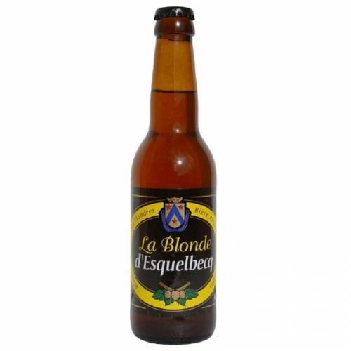 Bière blonde artisanale Blonde d'Esquelbecq Thiriez