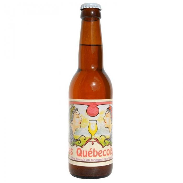 Bière blonde artisanale Les Québécoises Thiriez