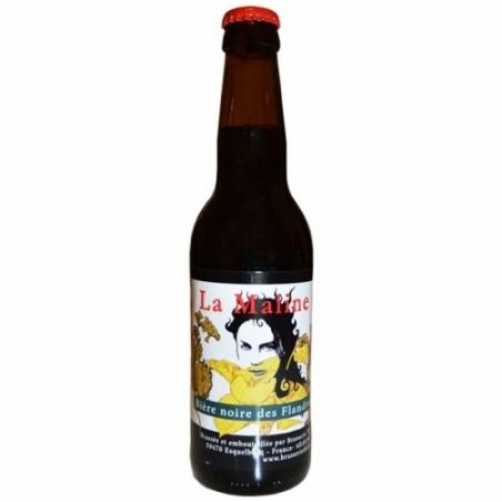 Bière noire artisanale Maline Thiriez