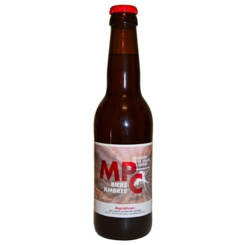 Bière ambrée artisanale MPC de la Vallée du Giffre