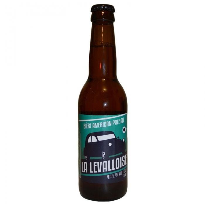 Bière blonde artisanale Levalloise Pale Ale