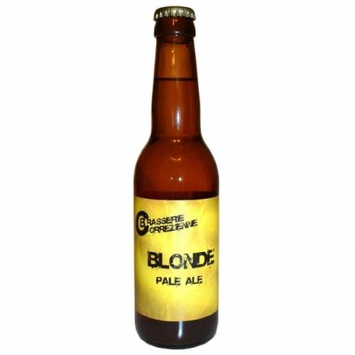 Bière blonde artisanale Corrézienne Pale Ale