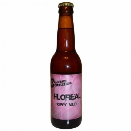 Bière rousse artisanale Corrézienne Floréal