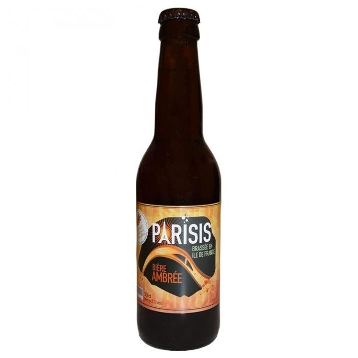 Bière ambrée artisanale Parisis