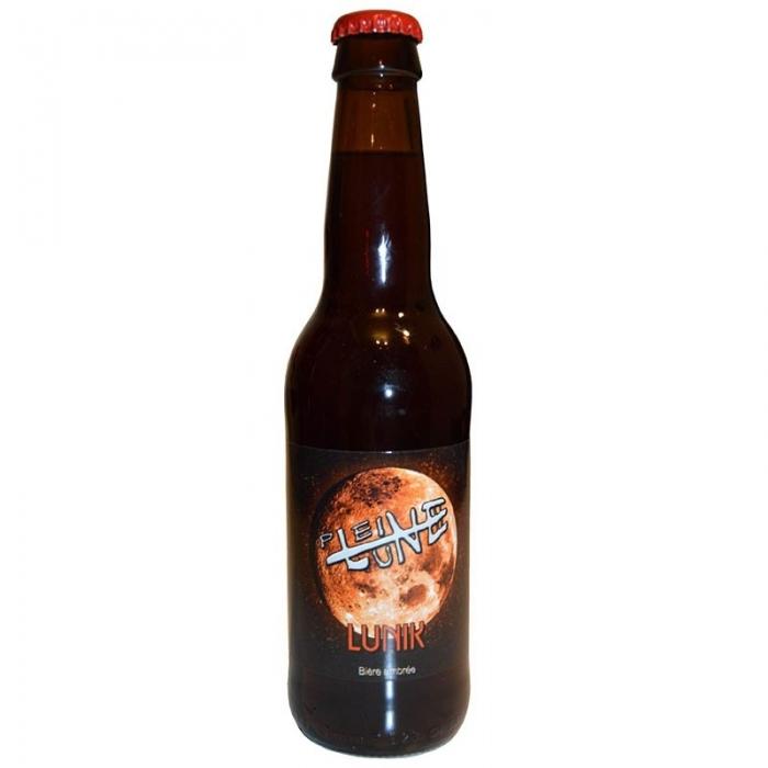 Bière ambrée artisanale Lunik Pleine Lune