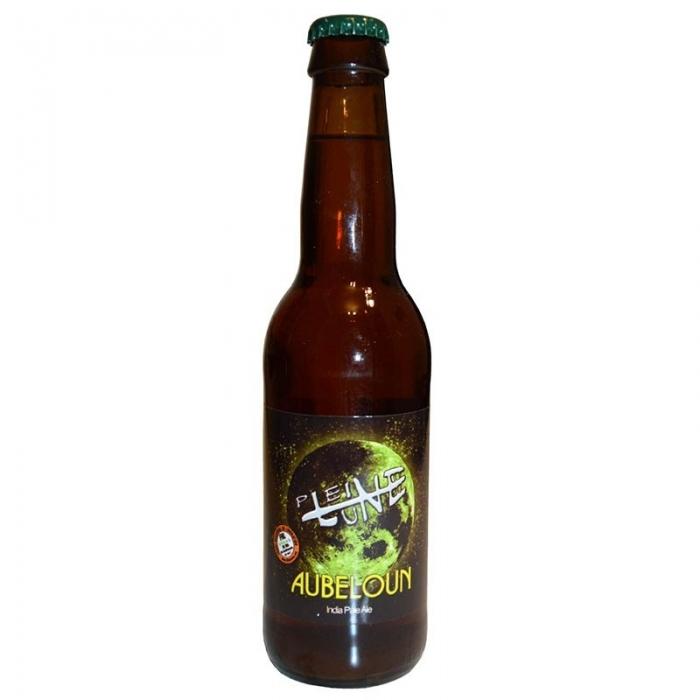 Bière IPA blonde artisanale Aubeloun