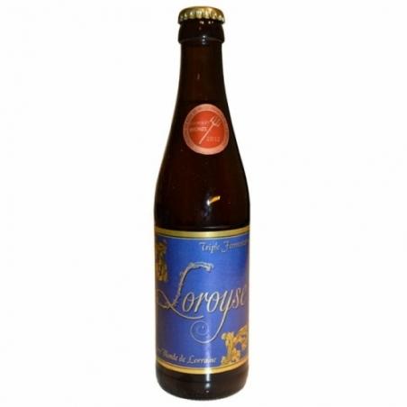 Bière triple artisanale Loroyse