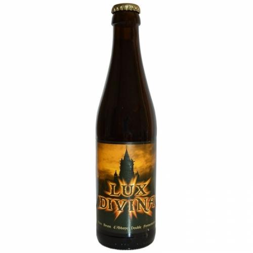Bière brune artisanale Lux Divina