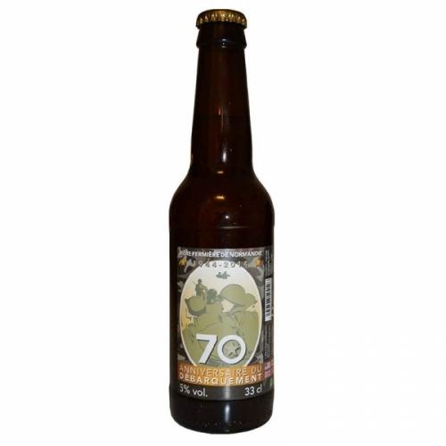 Bière blonde artisanale 70 ans de débarquement