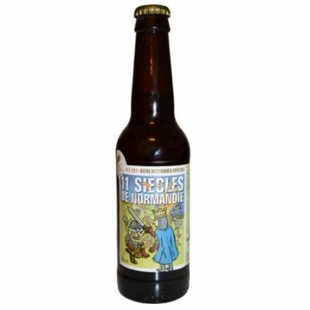 Bière rousse artisanale 11 siècles de Normandie