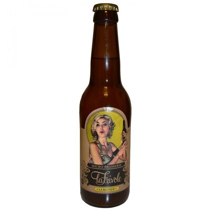 Bière blonde artisanale La Frivole