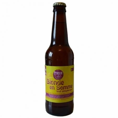 Bière blonde artisanale Blonde en Somme