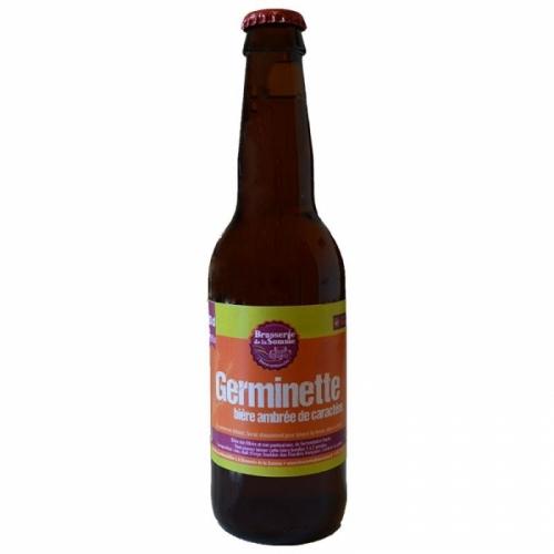 Bière ambrée artisanale Germinette