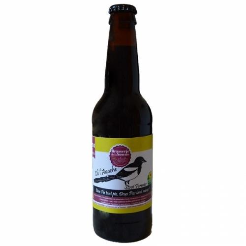 Bière noire artisanale Ch'l'agache Stout