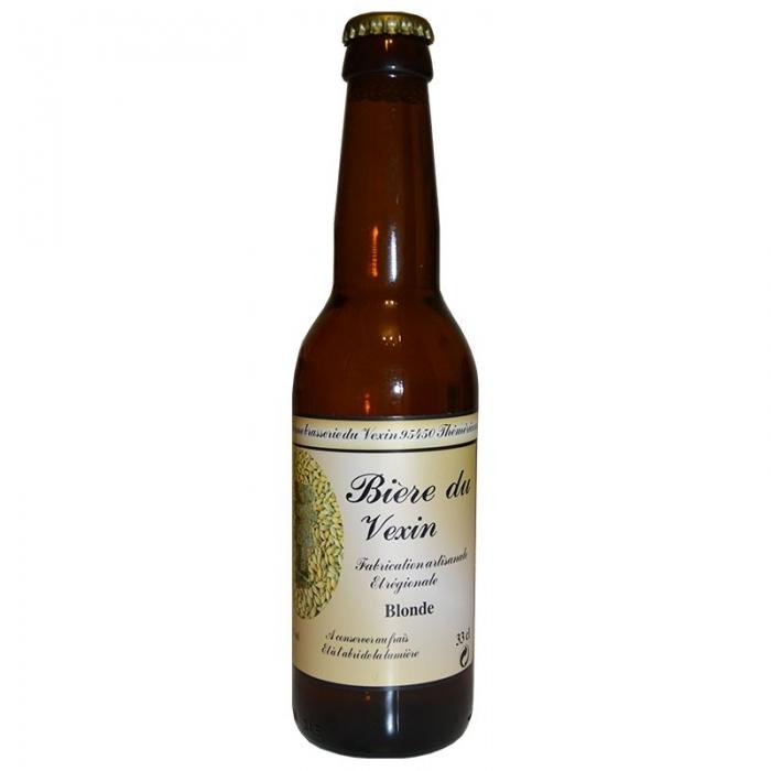 Bière blonde artisanale du Vexin