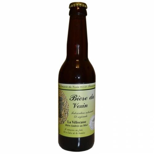 Bière ambrée au miel La Véliocasse du Vexin