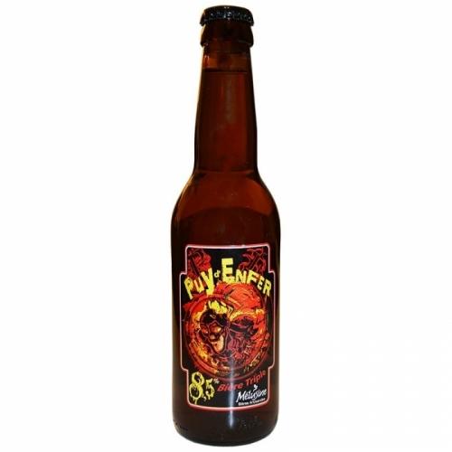 Bière ambrée triple Mélusine Puy d'Enfer