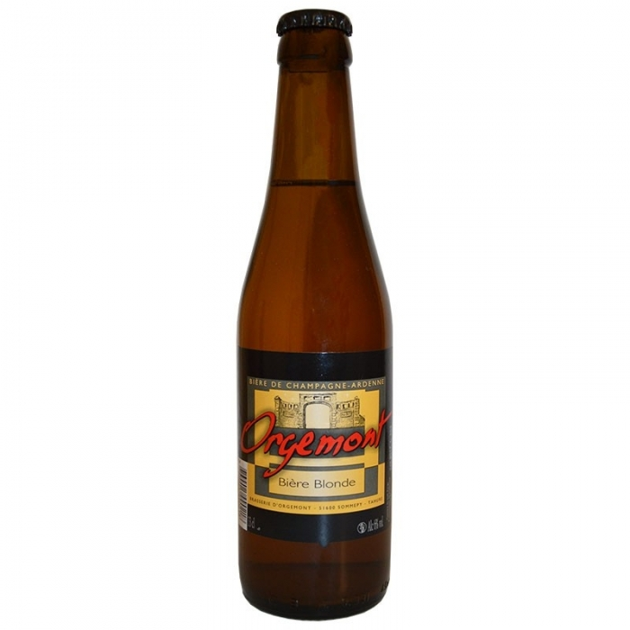 Bière blonde artisanale d'Orgemont