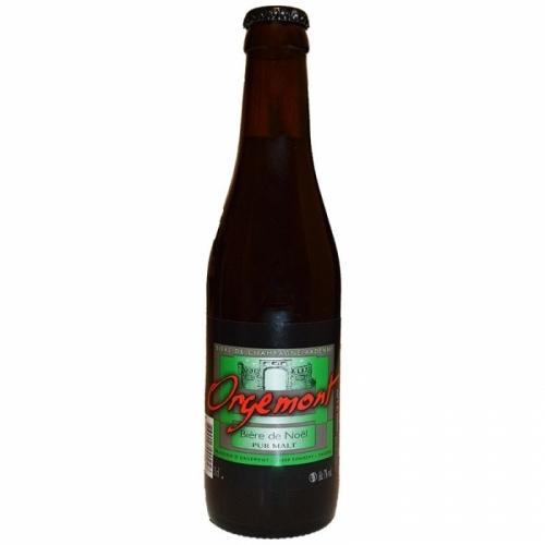 Bière de Noel artisanale Brasserie d'Orgemont