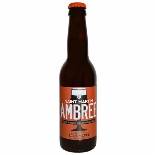 Bière ambrée artisanale Le Moulin de Saint Martin