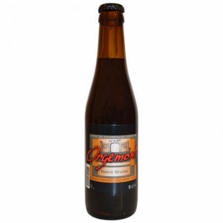 Bière brune artisanale Orgemont