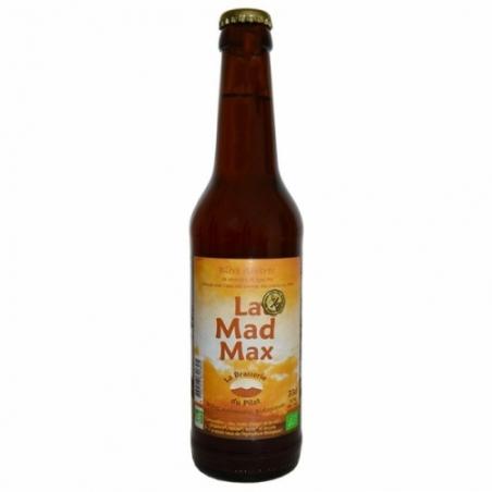 Bière ambrée bio artisanale Mad Max du Pilat