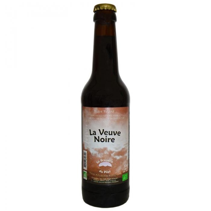 Bière brune bio Porter La Veuve Noire du Pilat