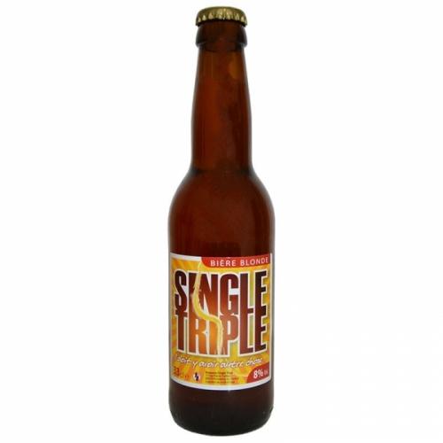 Bière triple artisanale Single Track
