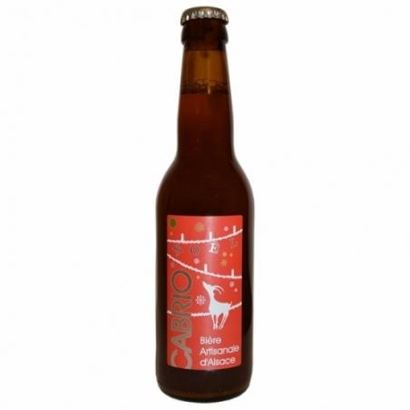 Bière de Noël aux épices Cabrio