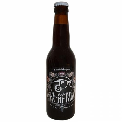 Bière noire artisanale Porter Bouqine Back In Black