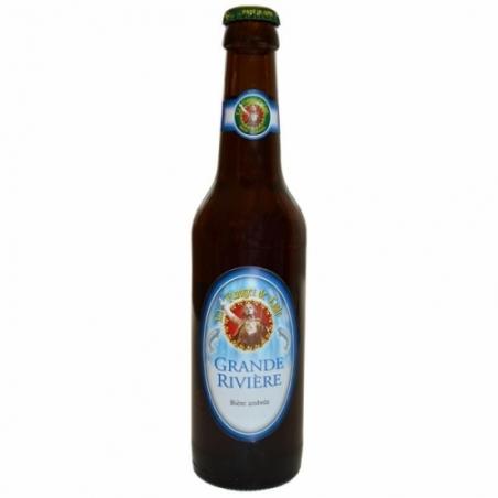 Bière ambrée artisanale Grande Rivière
