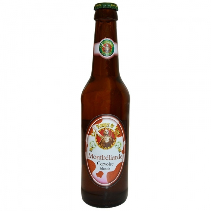 Bière blonde artisanale Bock La Montbéliarde