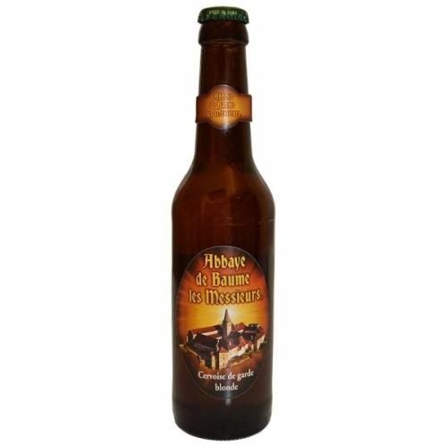 Bière blonde artisanale Abbaye Baume les Messieurs