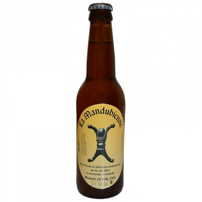 Bière blonde artisanale Mandubienne