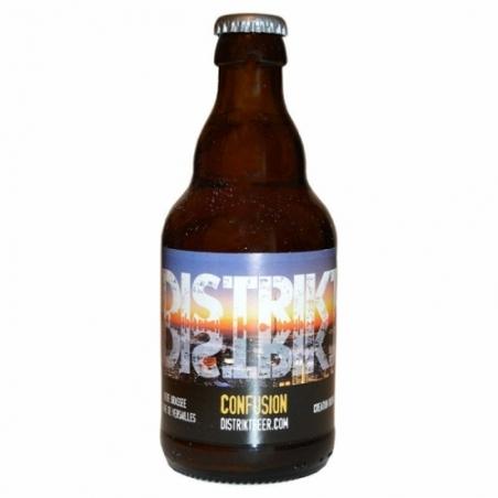 Bière blonde artisanale Confusion Distrikt