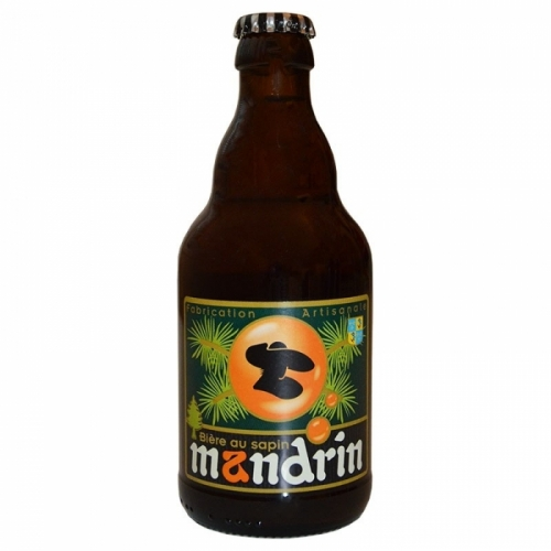Bière ambrée artisanale Mandrin au Sapin