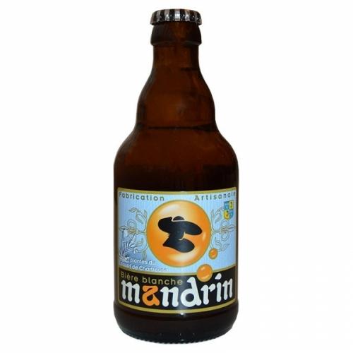 Bière blanche artisanale Mandrin aux 7 plantes