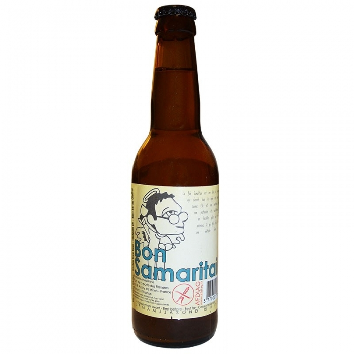 Bière blonde artisanale sans gluten Bon Samaritain