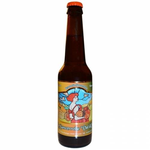 Bière rousse artisanale Sancerroise Val d'Or