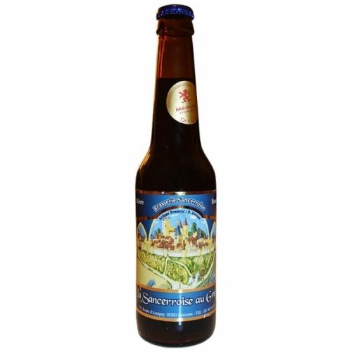 Bière brune artisanale Sancerroise au Gruyt