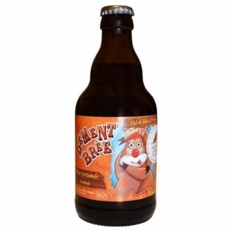 Bière ambrée artisanale Dément'brée