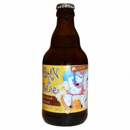 Bière blonde artisanale Brin de Folie de Sutter